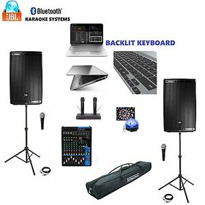 Jbl Eon615 Professional Karaoke System 1tb Computer Laptop
