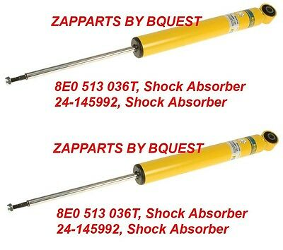 For Audi A4 A6 A7 Quattro Q5 S4 S5 Rear Left or Right Shock Absorber Bilstein B6