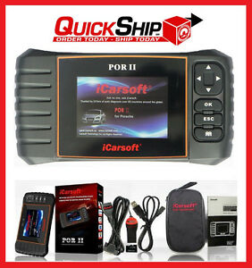 Details about PORSCHE DIAGNOSTIC SCANNER TOOL SRS ABS CHECK ENGINE AIRBAG  CODE READER SCAN