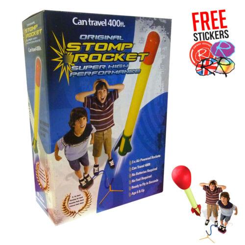 Air Rockets Flys up to 400 Feet High! SUPER STOMP HP Rocket Kit