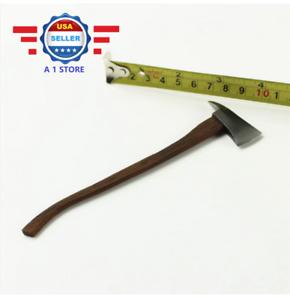 "1//6 Scale Metal Fireman Axe Wooden Handle Axe for 12/"" ACTION Figure"