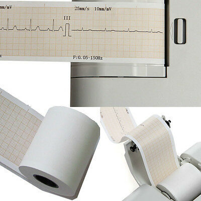 Thermal Printer paper for 1 channel ECG EKG Machine Patient Monitor 50MM*20M