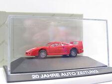 Herpa Ferrari F40 20 Jahre Auto Zeitung OVP (G2367)