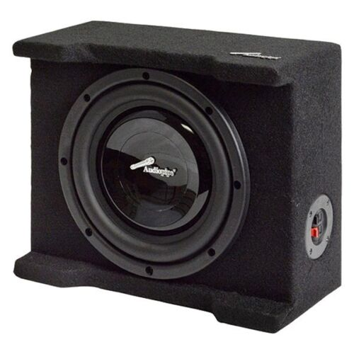 "NEW 8/"" Subwoofer Bass Speaker.Enclosure Cabinet.Truck Slim Style Seat Box.seat"