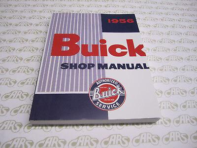 1956 Buick Roadmaster Century Special Super Shop Manuals /& Parts Books CD