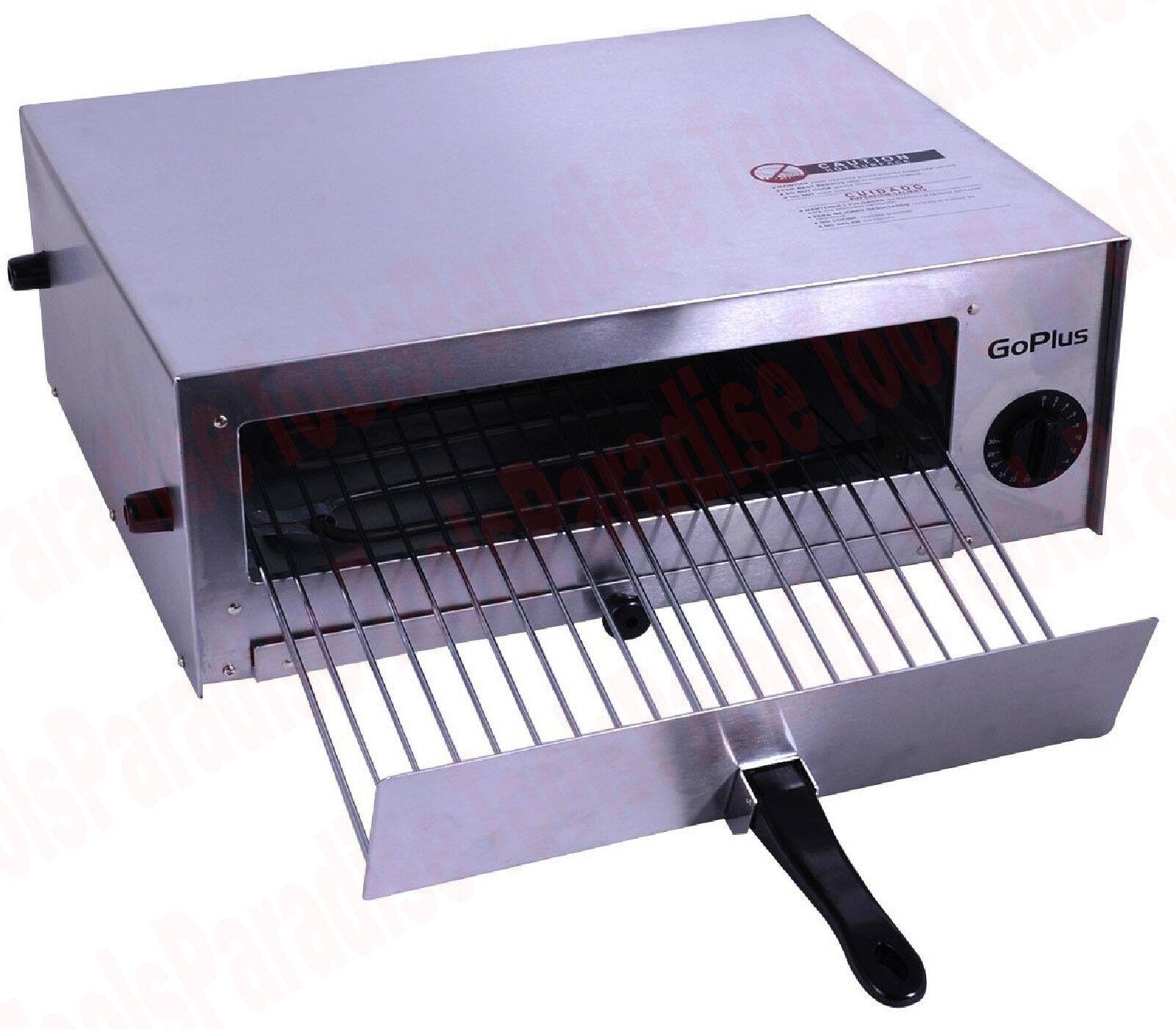 Électrique en acier inoxydable comptoir Four à Pizza 12 in (environ 30.48 cm)