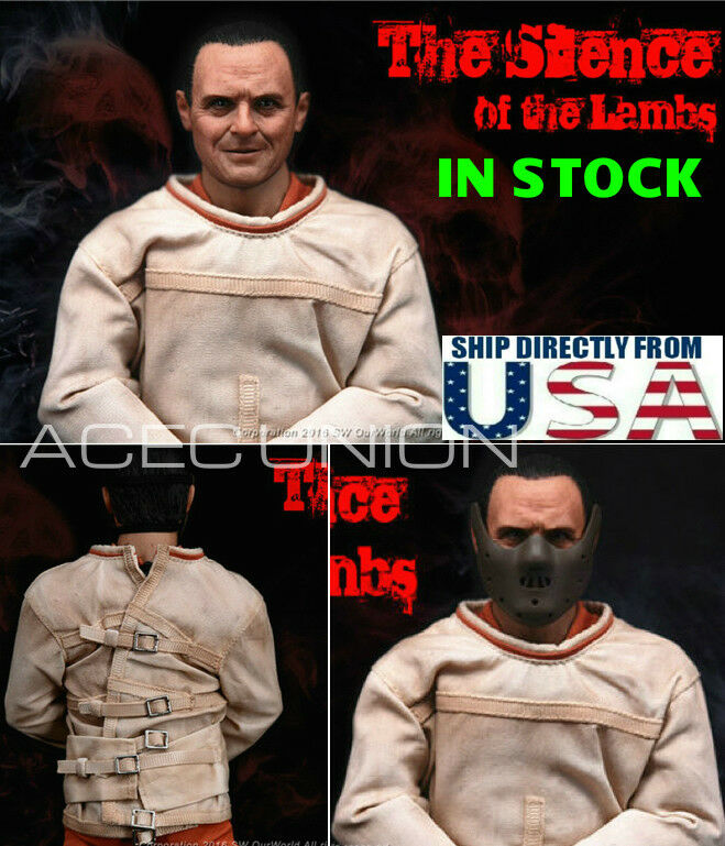 1/6 The Silence of the Lambs Dr Hannibal Anthony Hopkins Premium Figure Set USA