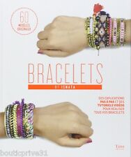 Livre créations -  Bracelets 60 modèles originaux.