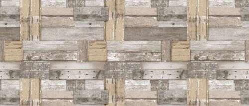 PLAIN WOOD OAK LOOK NATURAL BROWN FLOOR PANELS PRINT PVC VINYL TABLE CLOTH WIPE