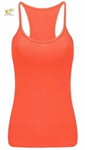 Ladies Crazy Chick Microfiber Vest Stretchy Top Dance Party Casual Club Gym Vest