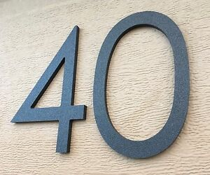 Image Is Loading 8 Inch Magnetic Modern House Numbers For Doors