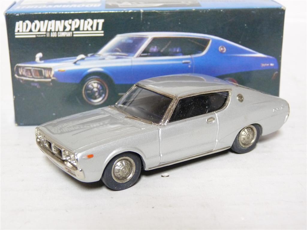 Adovanspirit IIADO AS007 1 43 1972 Nissan Skyline  2000GT blanc Metal Model voiture  en soldes