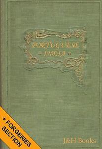 PORTUGAIS-DE-L-039-INDE-TIMBRES-histoire-varietes-Faux-92pp-CD