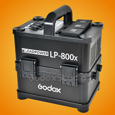 Godox LP-800X Portable Outdoor Output Li-ion Battery Power Inverter 100V-120V