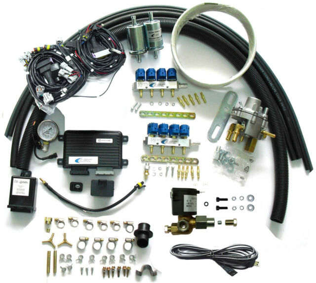 Methane CNG Multipoint Sequential Injection System Conversion Kit for V8 EFI Car