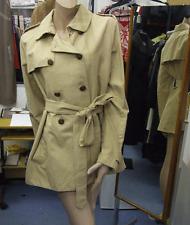 JOSEPH BNWT 44 RRP £441.00 Wonderful Classy Beige Short Mac Coat Jacket UK 14-16