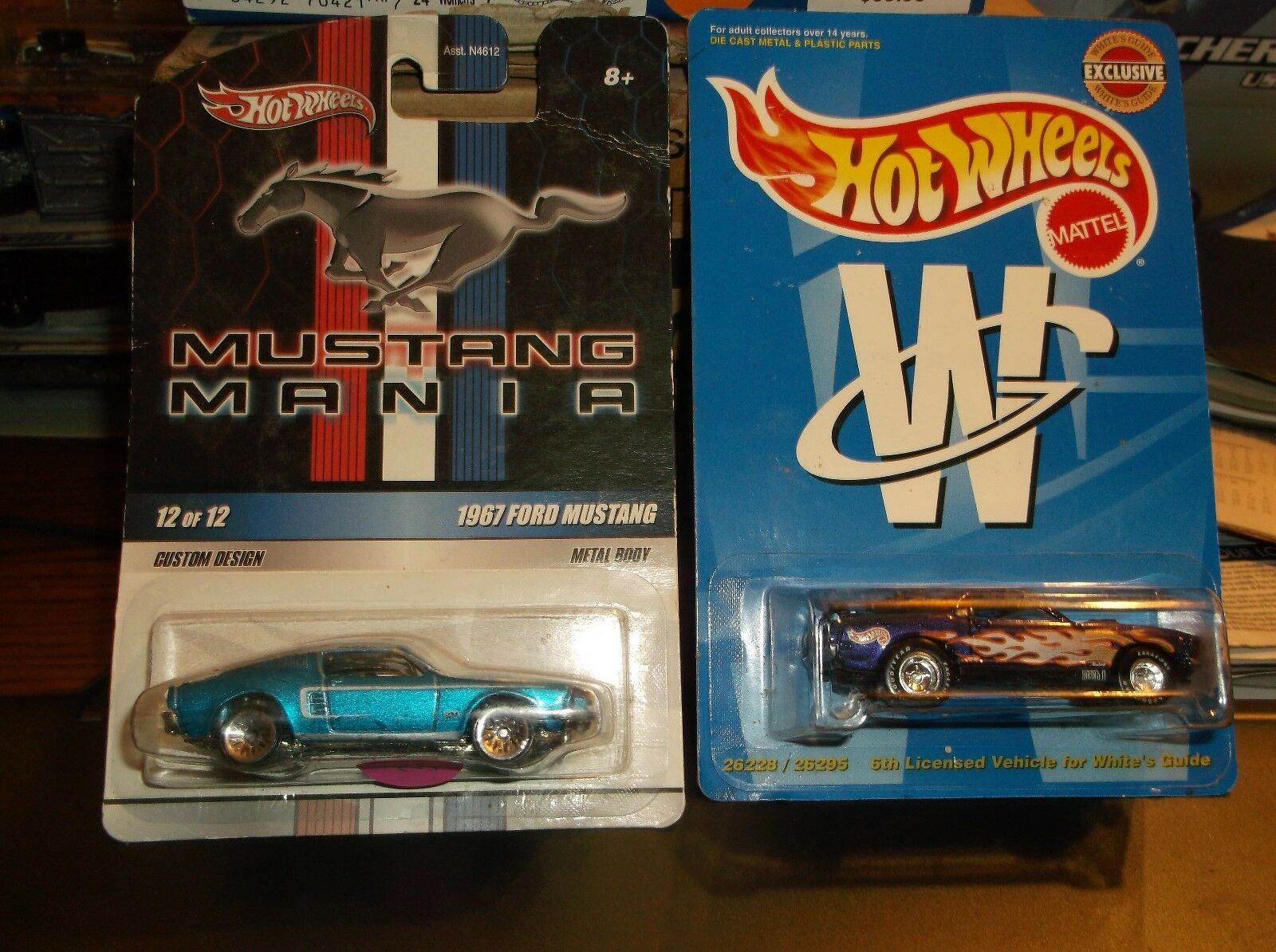 Hot Wtalons Limited Edition Lot  de 2 Mustangs, Mustang 67 & 70 Mach 1  grosses économies