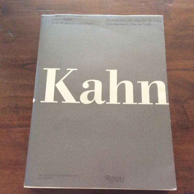 ~Louis I. Kahn: In the Realm of Architecture Brownlee/DeLong PB