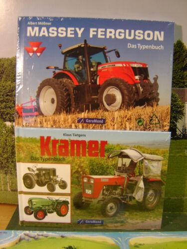 """Libro tipos 2 libros de tractores en el set /""""nuevo/"""" and"""