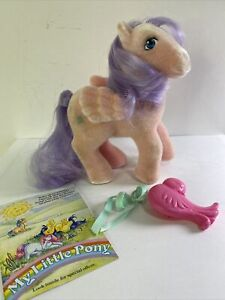 Vintage My Little Pony So Soft Pegasus North Star Northstar with comb & Ribbon