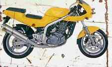 MuZ Skorpion Sport 1996 Aged Vintage SIGN A3 LARGE Retro