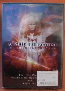 WITHIN TEMPTATION - MOTHER EARTH TOUR -  !!! 2 DVD SET   !!!