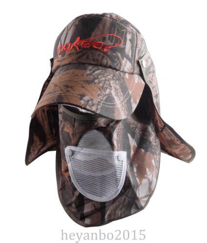 US OUTDOOR TACTICAL VISOR SUN HAT 360 UV PROTECTION FISHING HIKING CAP