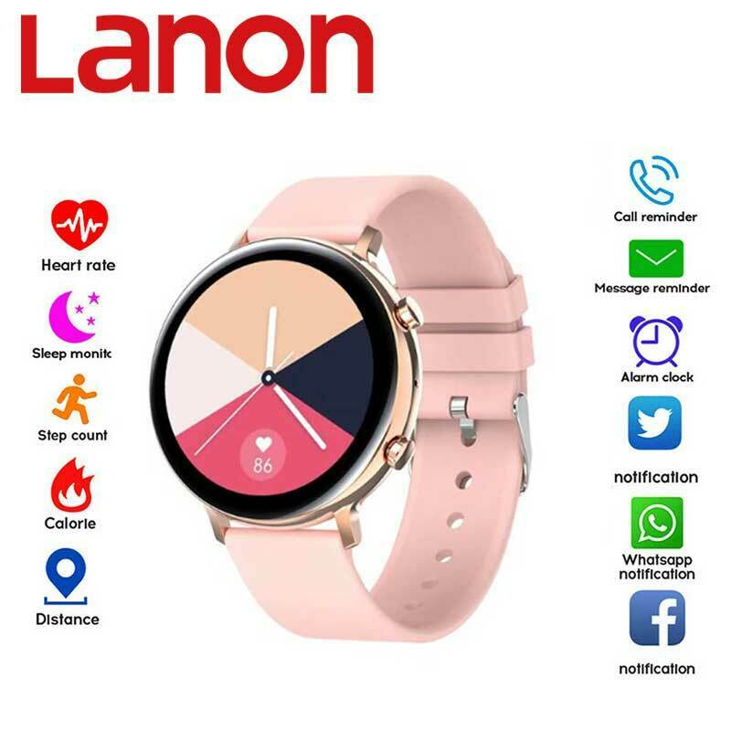 LANON Smart Watch Outdoor Blood Pressure Fitness Tracker Heart Rate Monitor