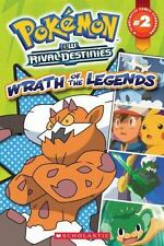 Pokemon Comic Reader #2: Wrath of the Legends (Pokémon Comic Readers)-ExLibrary
