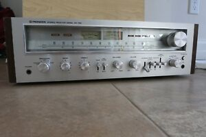 Details about Vintage Pioneer SX-750 Stereo Receiver
