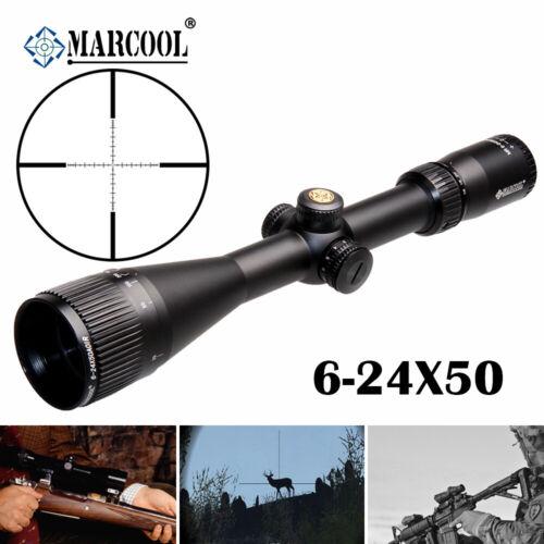 MARCOOL ALT 6-24X50 Rifle Scope Long Range AOIR Iluminator Optical Sight Hunting