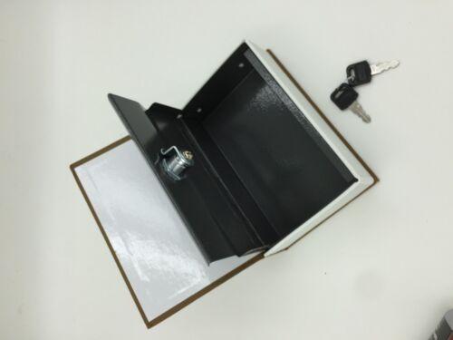 Bücher Tresor Buchattrappe Attrappe Safe Geldkassette Geheimversteck Geschenk