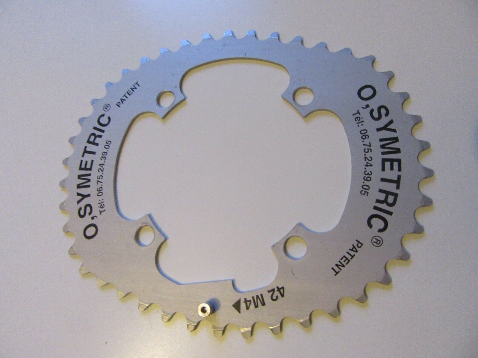 Osymetric Elliptical 42 tooth mountain bike bike bike chainring 4 bolt 104mm BCD (1867) e6fc14