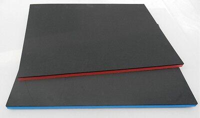zweifarbiger Hartschaumstoff  für  Werkzeugeinlage Systemeinlage GP= 48,76 €/m²