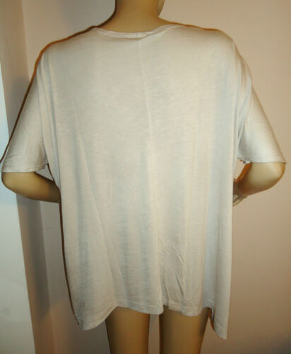 NEW LADIES STONE /'PENTAGON/' OVERSIZED TOP BY ROCK /& REVIVAL SIZES 12 14 16 18