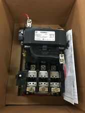 New Ge Size 3 Motor Starter 90amps 120v coil out of box