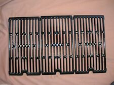 Vermont Castings Gas Grill Cast Iron Porcelain Coated Cooking Grates Set of 3