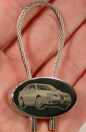 Spider Modelle Fotogravur GT usw. Alfa Romeo Schlüsselanhänger verschied