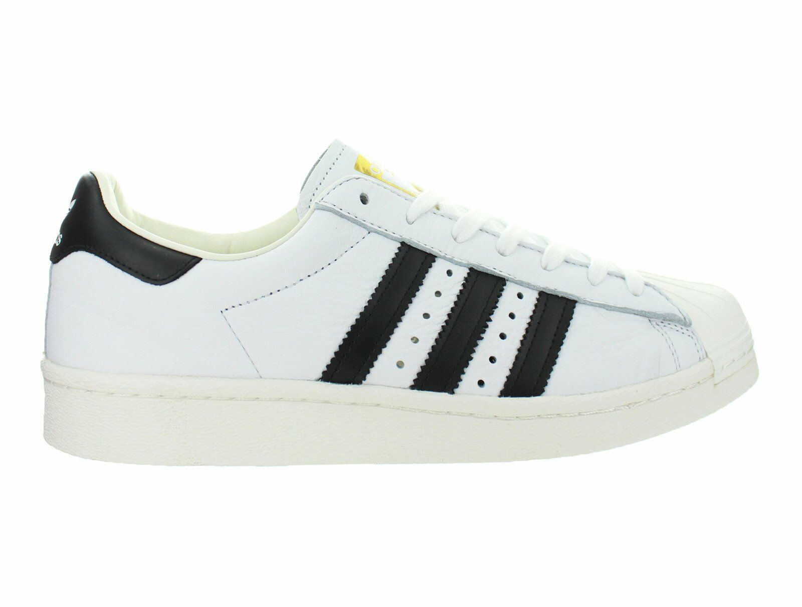 Mens Adidas Superstar Boost White Core Black gold Metallic BB0188