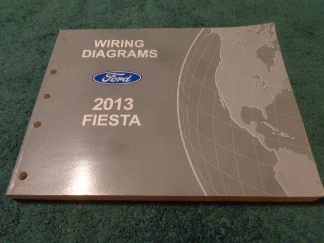 2013 Ford Fiesta Wiring Diagram Shop Manual    Original