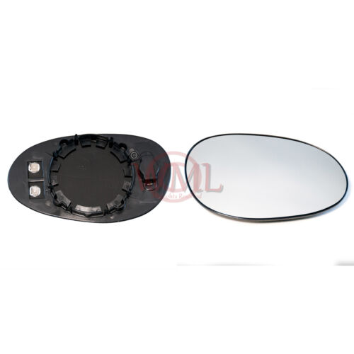 HEATED/&BASE,RIGHT SMART ROADSTER 2003-/>2006 DOOR//WING MIRROR GLASS SILVER