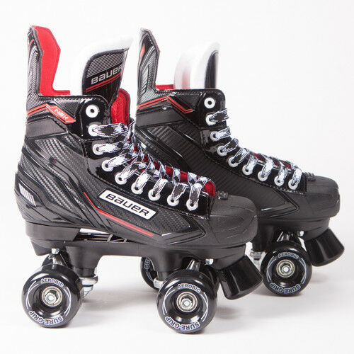 Bauer Quad Roller Skates - NSX - 2018 Model - Sure-Grip Sure-Grip - Aerobics 740995