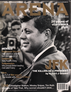 Arena Magazine #42 Autumn 1993 John F Kennedy JFK Christpher Walken 071720AME