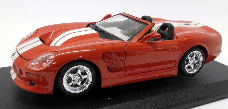 de moda Maisto 1 18 Scale Diecast - 31142 31142 31142 Shelby Series 1 rojo blanco Stripes  solo cómpralo