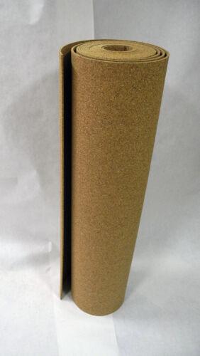 Korkdämmung verschiedene Größen  4mm XXL Format Rollenkork Wandkork Pinnwand