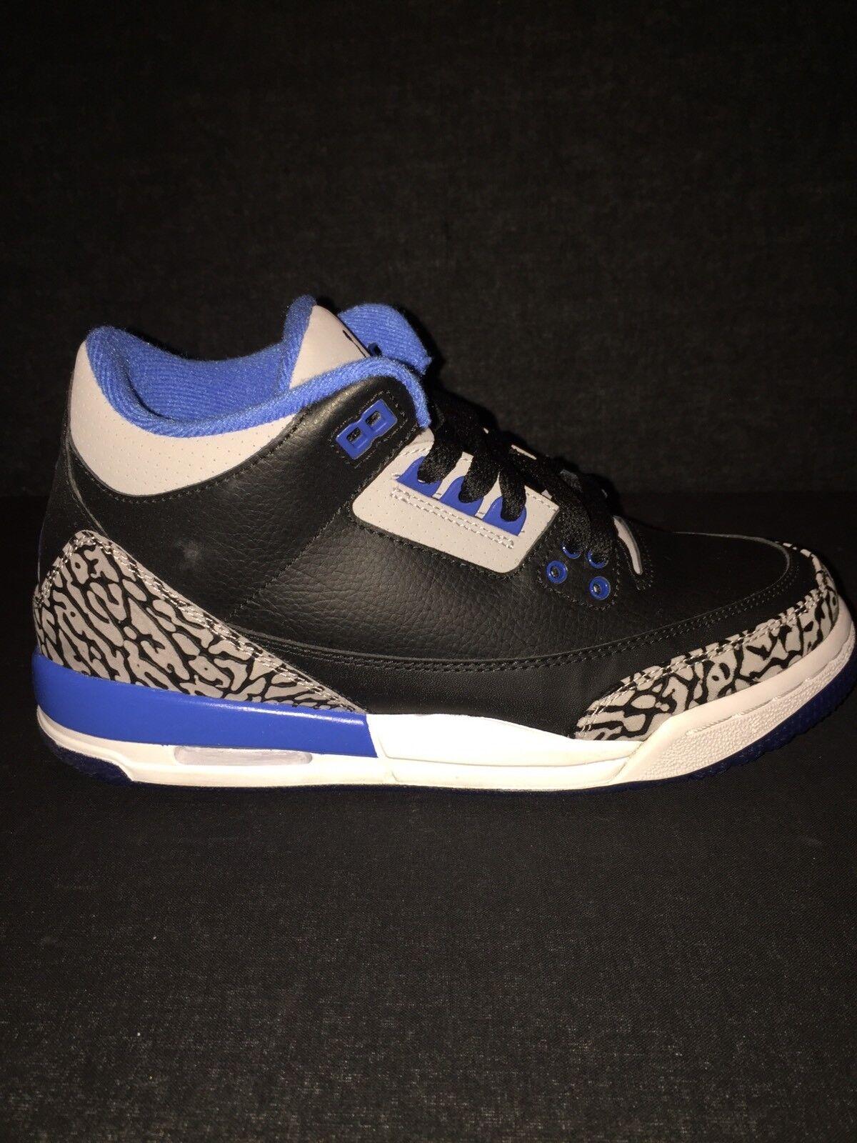 Nike air jordan retr og sport azzurro sei dimensioni 6 rara mila bambini og cassa rara 6 indossato una volta 7022ab