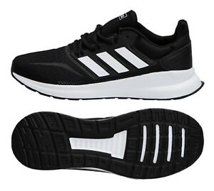 8e1ce0878785f Image is loading Adidas-Men-RUN-FALCON-Shoes-Running-Training-Black-