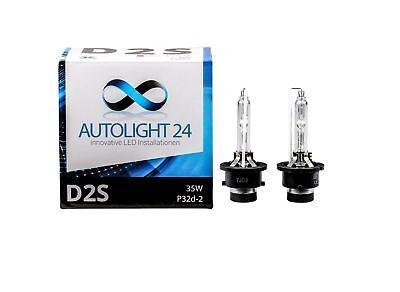 2 x Xenon Brenner D2S Lampen Birnen E-Zulassung für Opel Astra H Van