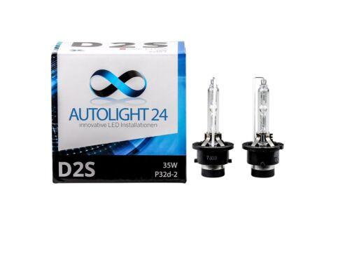 2 x xenón d2s lámparas peras e-autorización para VW