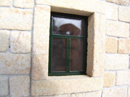 bloxxs Steine M-18 Sandstein für Modellbau Burg Mauer Haus Ministeine Krippe